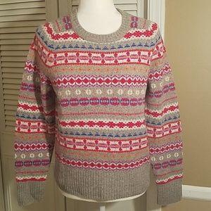 J. Crew scoop neck sweater small